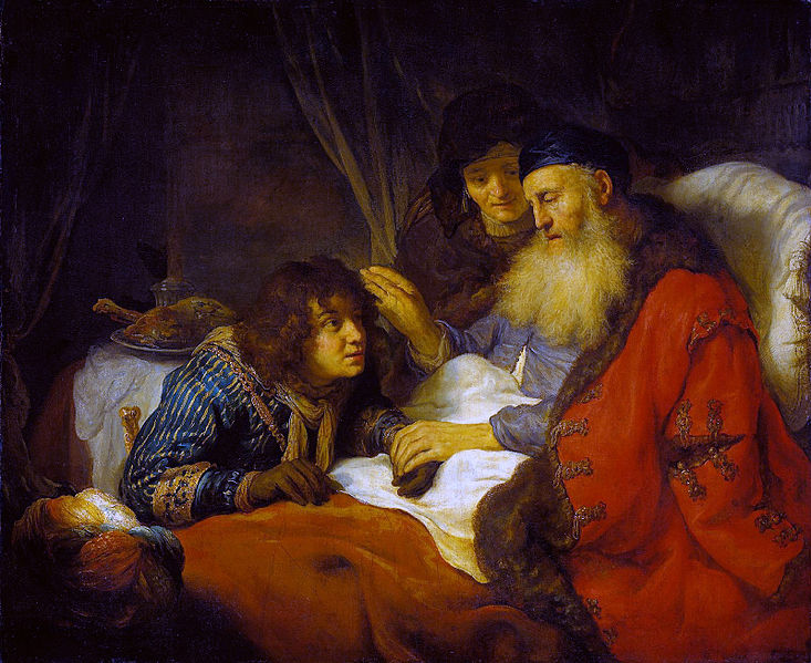 733px-Isaac_Blessing_Jacob_-_Govert_Flinck