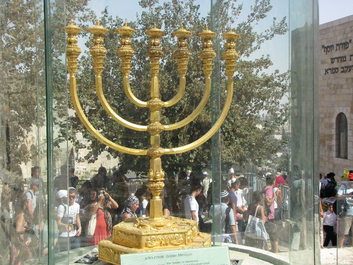 Menorah replica