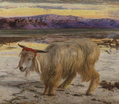 William Holman Hunt: The Scapegoat, 1854.